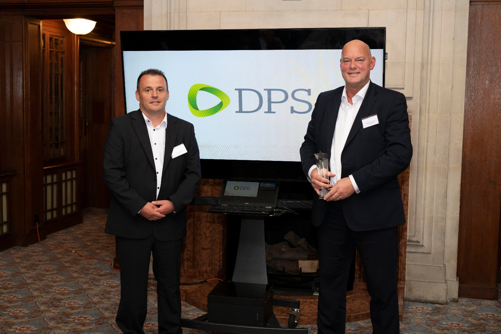 Peter Booman, Director of Contract Services, The Netherlands and Martin Bannister, Managing Director CS Europe