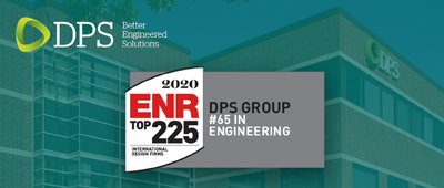 DPS Group Global ranked 65th in ENR's top 225 International Design Firms for 2020.