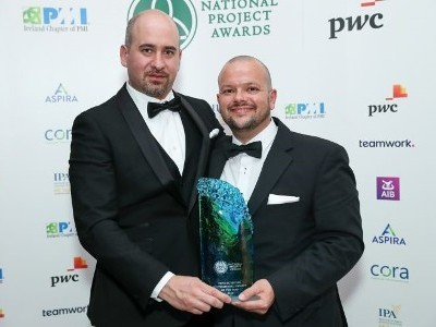 Hovione Cork win at the 2019 National Project Awards, Ireland Chapter of PMI
