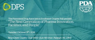 "PDA presents ""The Next Generation of Pharma: Innovation, Facilities, and People"""